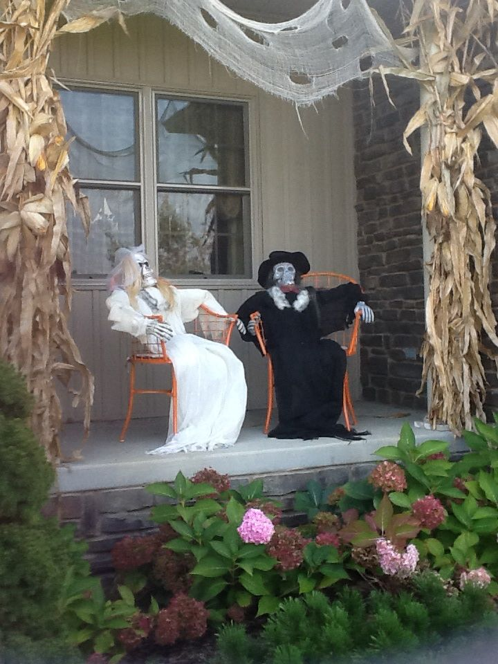 Creepy Outdoor Halloween Decorations Decoration Love