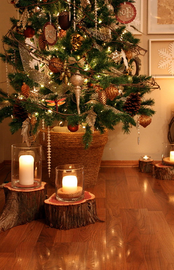 Rustic Christmas Decorating Ideas 2016