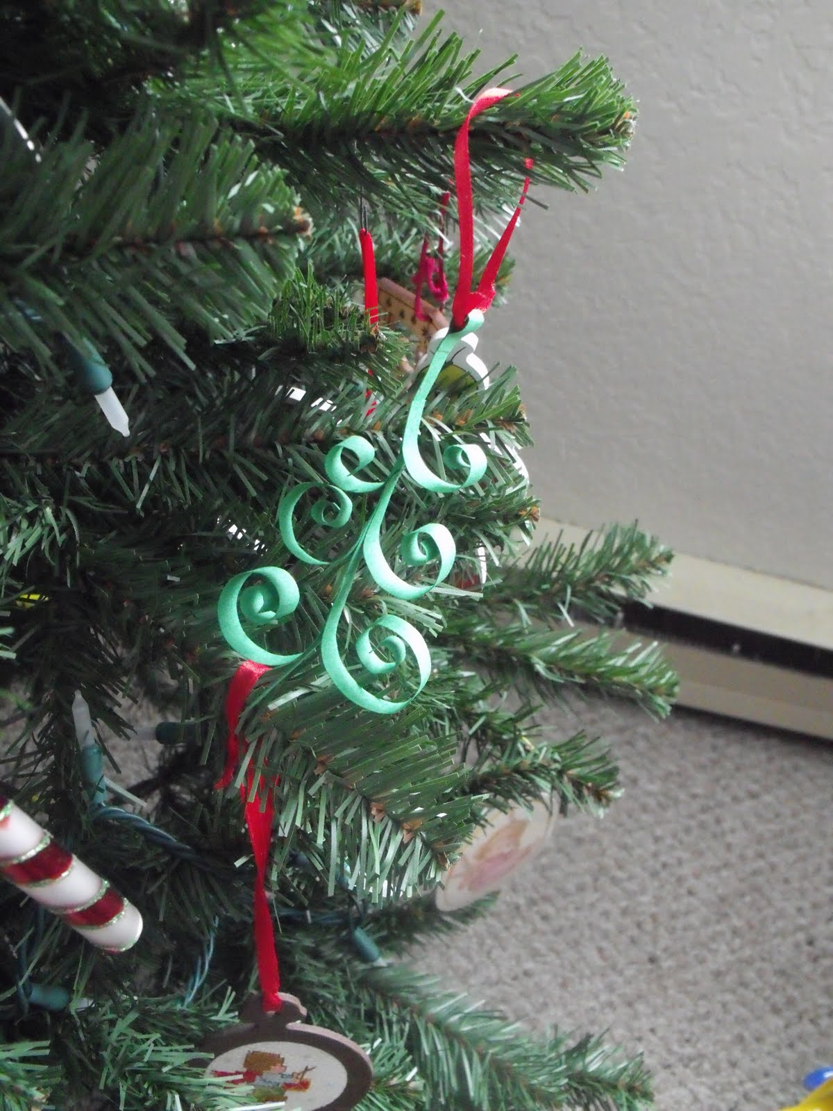 primitive christmas tree ornaments to make - Primitive Christmas Tree Ornaments