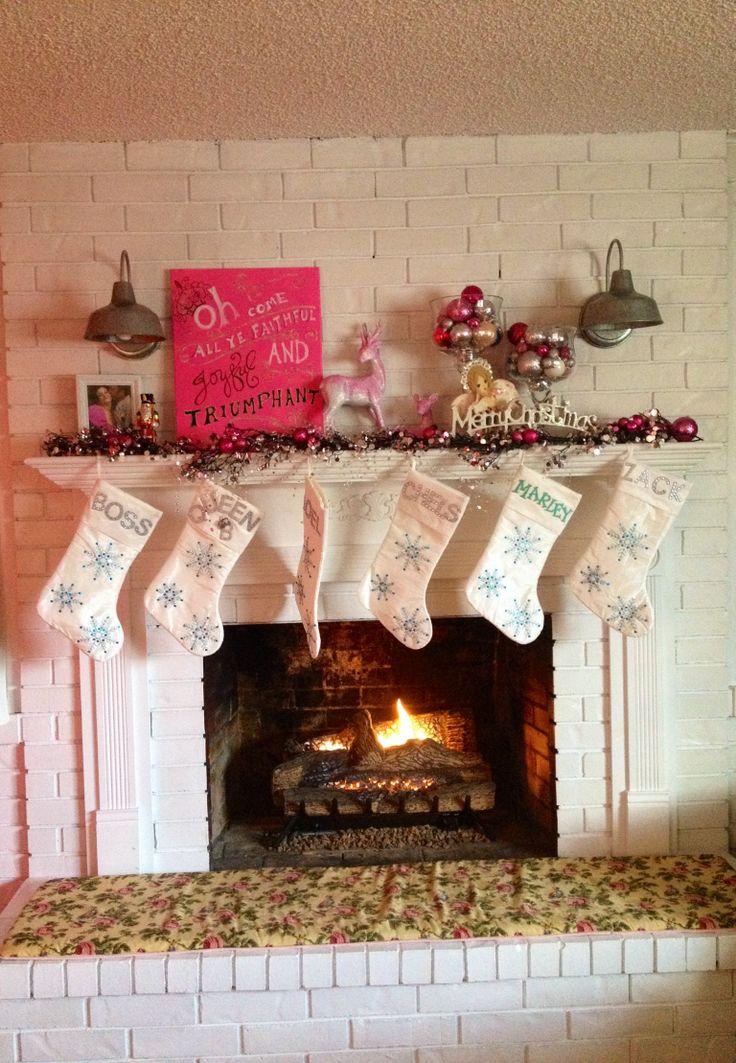 Pinterest Shabby Chic Christmas Decorating
