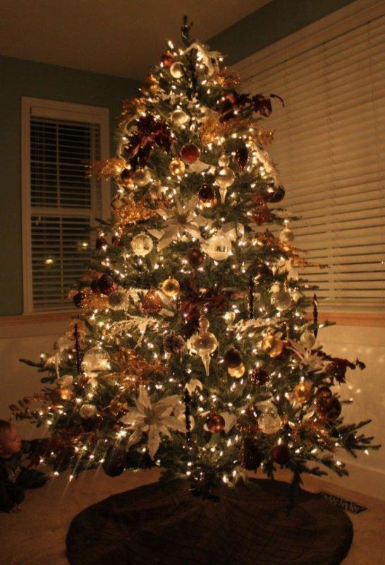 Rustic Christmas Tree 2016