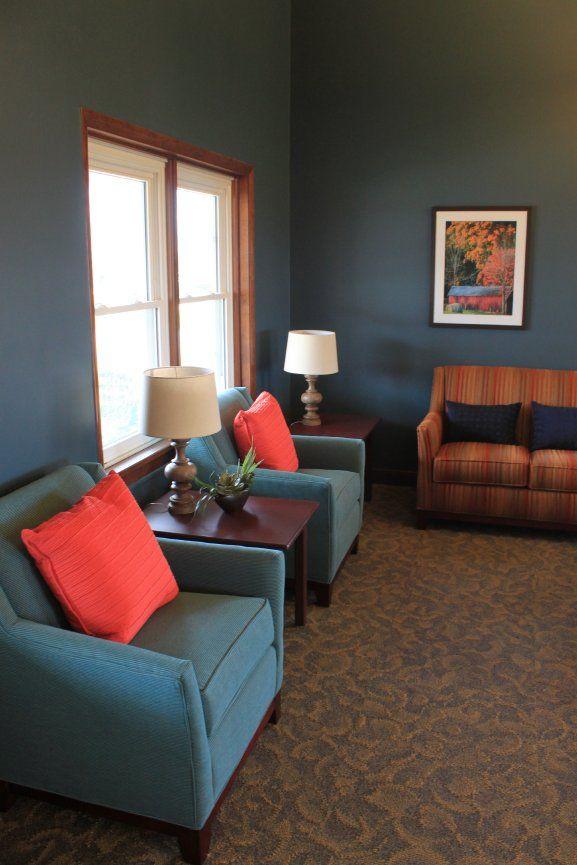Senior Resident Living Room Design