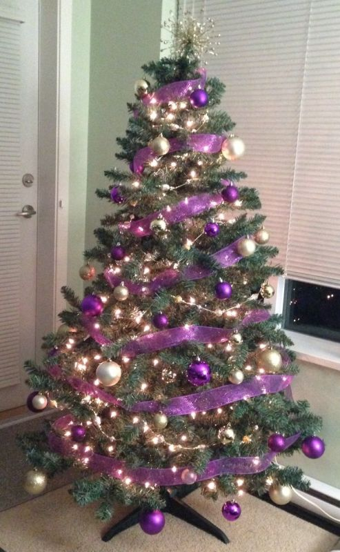 35 Purple Christmas Tree Decorations Ideas You Cant Miss