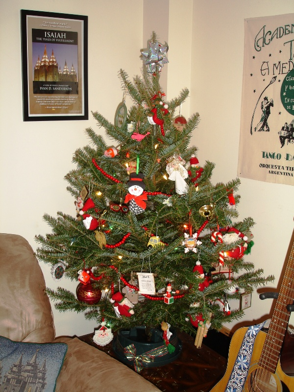 Real Decorated Christmas Trees Nice Design