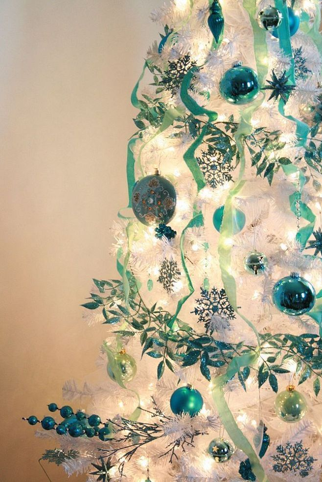 38 Teal Christmas Tree Decorations Ideas Decoration Love