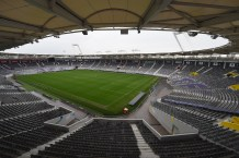 TOULOUSE, FRANCE - FEBRUARY 07: A view of the inside of Stadium Municipal on February 9, 2016 in Toulouse, France. (Photo by Laurence Griffithsl/Getty Images)