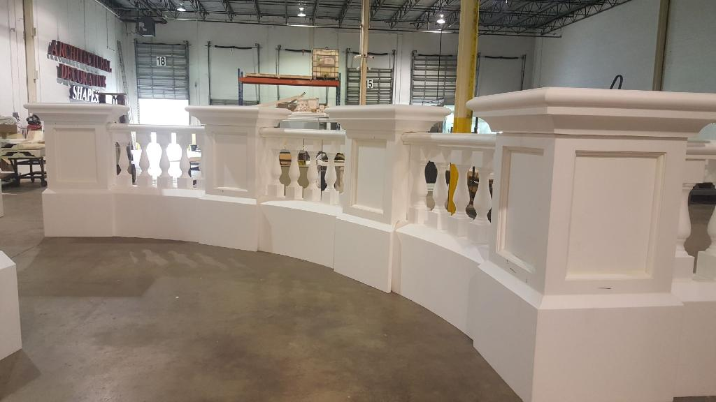 privacy fence panels - security fence - stucco wall