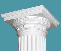 Doric-cap-column-royalfoam