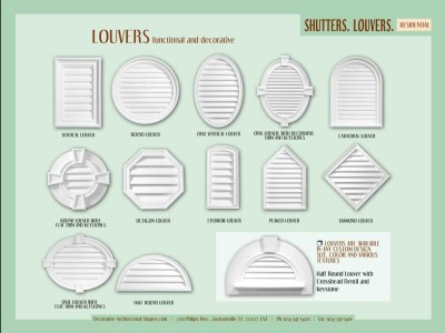 RESIDENTIAL-Sutters, Louvers