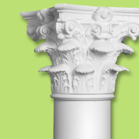 architectural accents columns caps bases