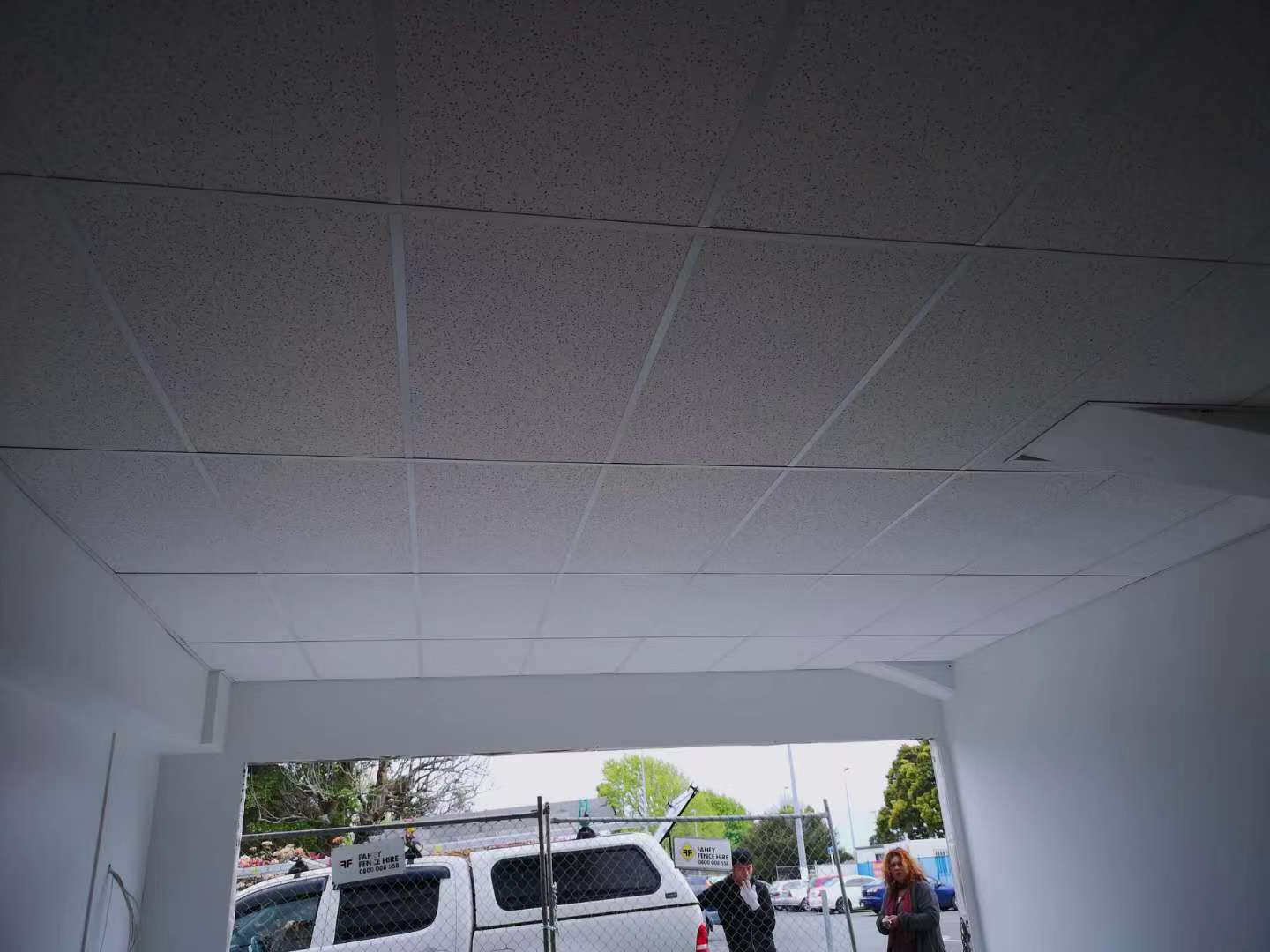 suspended acoustic ceilings system