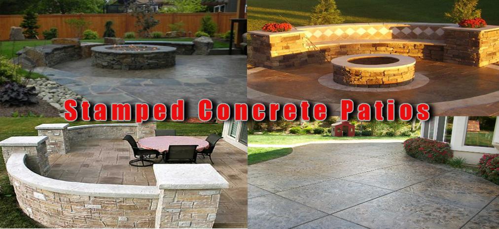 stamped concrete decorative concrete