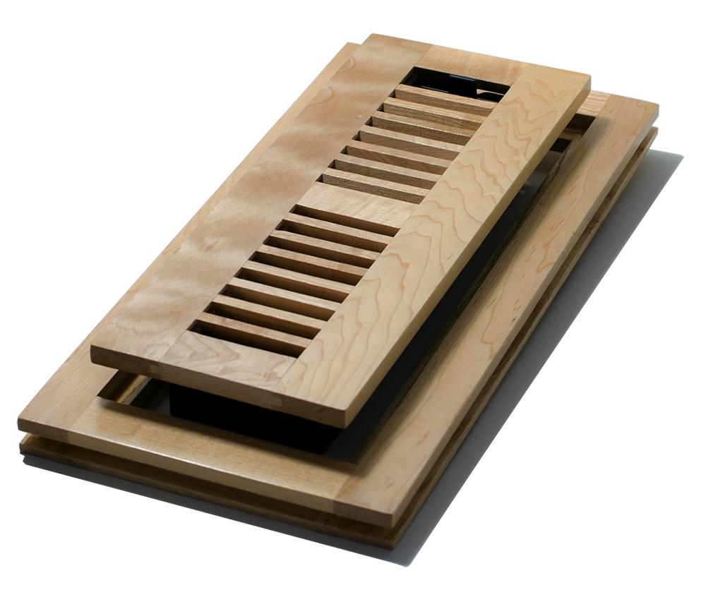 Model WMLF310-N Natural Maple 3 x 10 Flushmount Floor Register