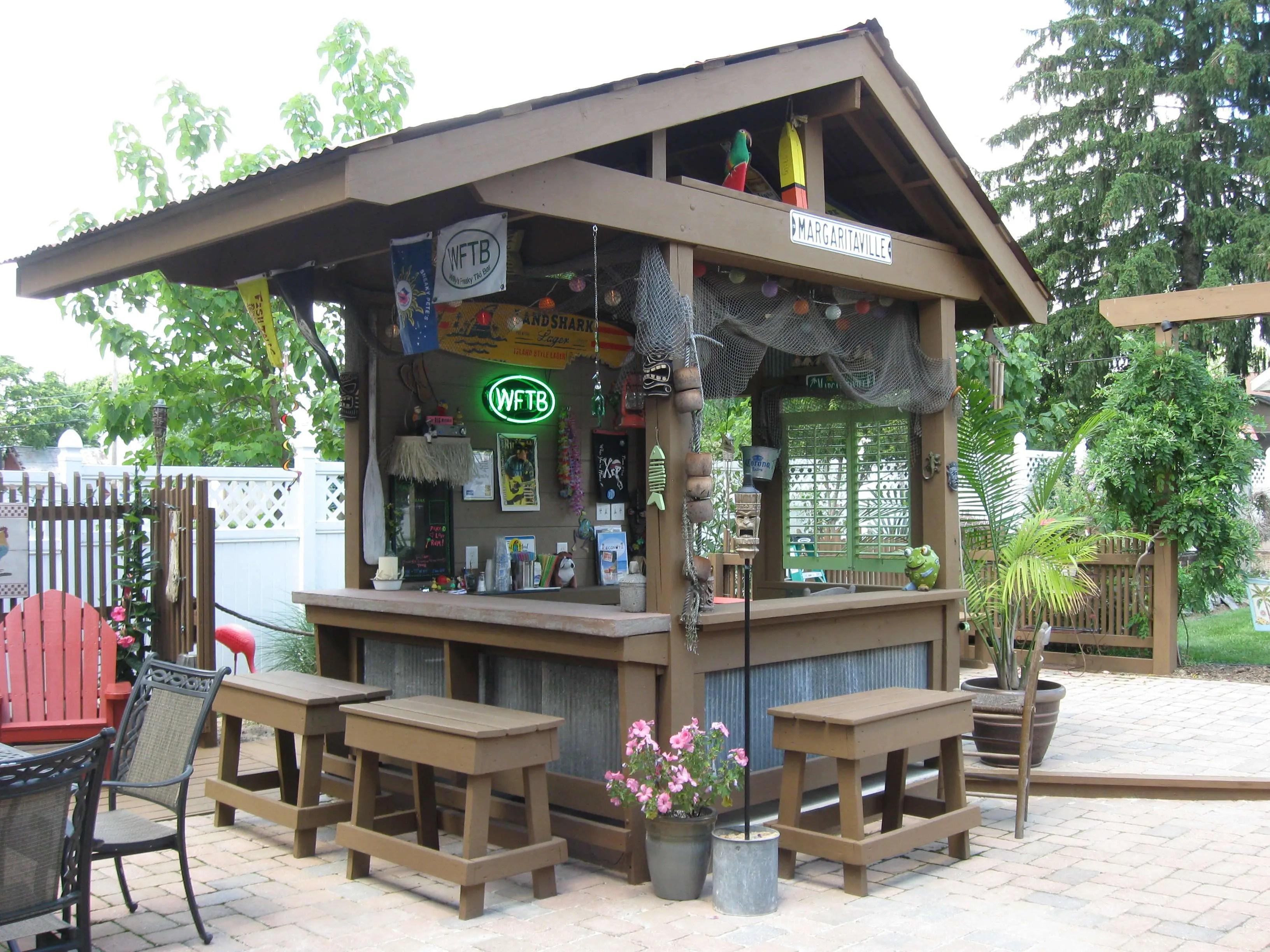 DIY OUTDOOR BAR IDEAS 30 - decoratoo on Backyard Design Ideas Diy id=76243