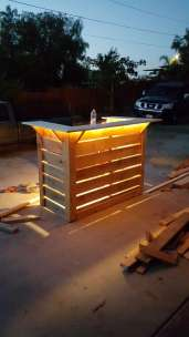 DIY OUTDOOR BAR IDEAS 63