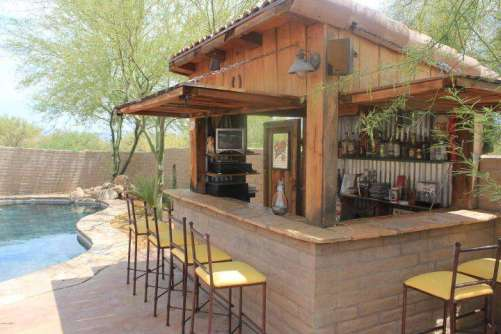 80 Incredible DIY Outdoor Bar Ideas - decoratoo on Patio With Bar Ideas id=51619
