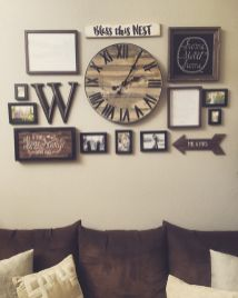 50 Stunning Photo Wall Gallery Ideas 32