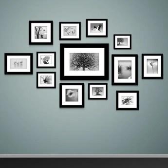 50 Stunning Photo Wall Gallery Ideas 35