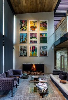 50 Stunning Photo Wall Gallery Ideas 38