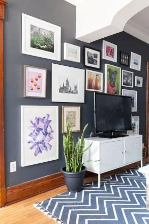 50 Stunning Photo Wall Gallery Ideas 49