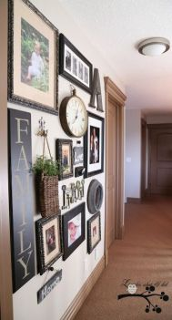 50 Stunning Photo Wall Gallery Ideas 50