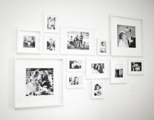 50 Stunning Photo Wall Gallery Ideas 56