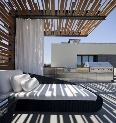 Awesome Modern Pergola Design Ideas21