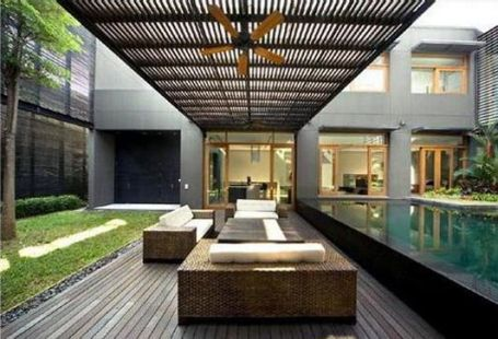 Awesome Modern Pergola Design Ideas27