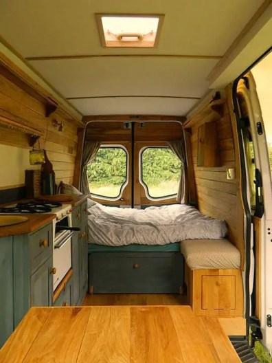 Badass DIY Camper Van Inspiration 36