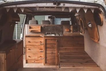 Badass DIY Camper Van Inspiration 38