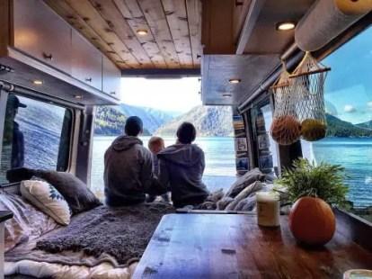 Badass DIY Camper Van Inspiration 41