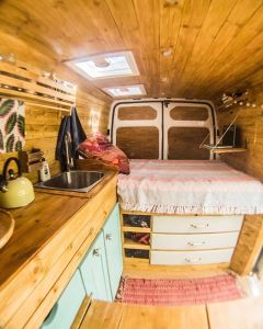 Badass DIY Camper Van Inspiration 48