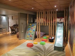 Basement Playroom Ideas 15