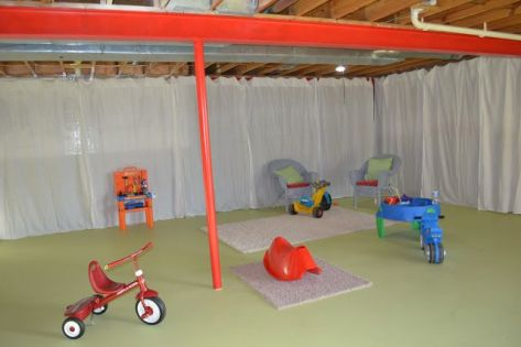 Basement Playroom Ideas 29
