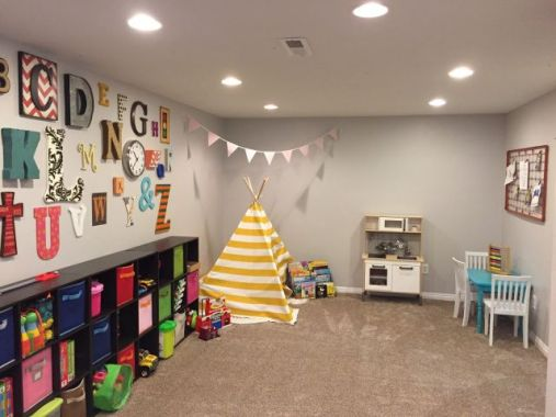 Basement Playroom Ideas 57