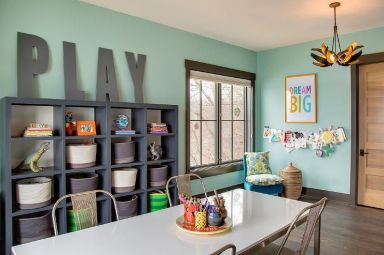 Basement Playroom Ideas 91