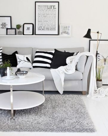Black And White Decor 16