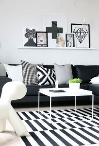 Black And White Decor 9