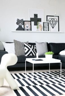 Black And White Decor 9