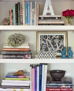 Bookshelf Styling Tips, Ideas, And Inspiration 28