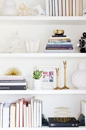 Bookshelf Styling Tips, Ideas, And Inspiration 31