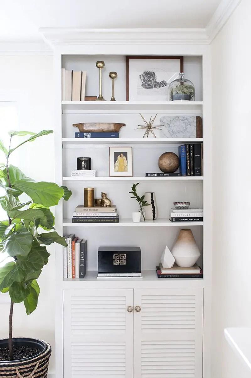 Bookshelf Styling Tips, Ideas, And Inspiration 6