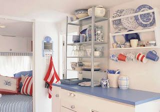Cheap And Easy Ways To Decorate Your RV Camper 66