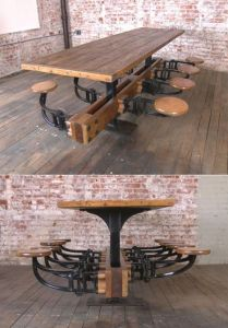 Industrial Furniture Ideas 1