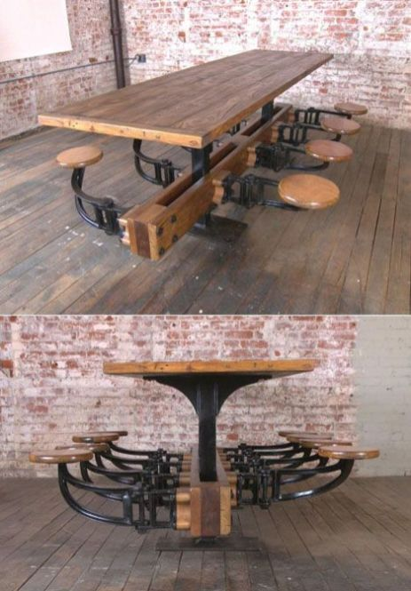 Industrial Furniture Ideas 1