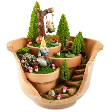 Magical And Best Plants DIY Fairy Garden Inspirations 22