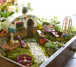 Magical And Best Plants DIY Fairy Garden Inspirations 35