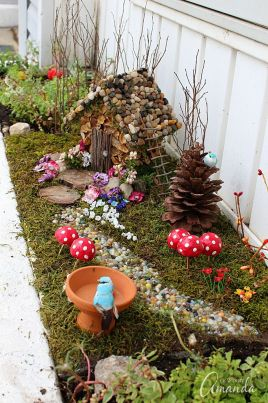 Magical And Best Plants DIY Fairy Garden Inspirations 47