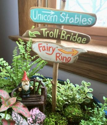 Magical And Best Plants DIY Fairy Garden Inspirations 50