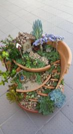 Magical And Best Plants DIY Fairy Garden Inspirations 52